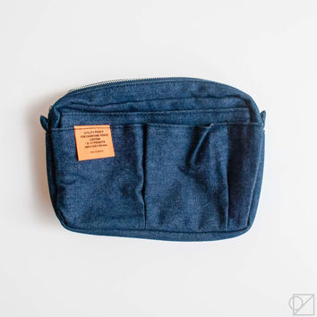 DELFONICS Utility Carrying Case S Blue Jean
