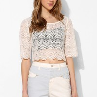 BDG Color-Block High-Rise Seam Short - Urban Outfitters
