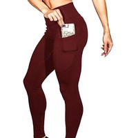 ACTIVEWEAR PRETTY FIT PREMIUM LEGGINGS - Maroon