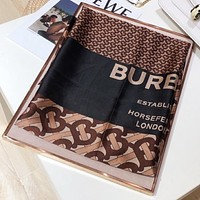 Burberry New fashion more letter print scarf Coffee