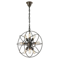 Galaxy 9-Light Chandelier, Rustic, Ceiling Chandeliers