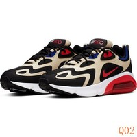 HCXX 19Aug 1091 Nike Air Max 200 AQ2568-700 Sneaker Breathable Running Shoes