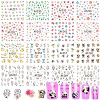 48 Sheets New 2017 Water Transfer Mixed Designs Sets Nail Art Flower DIY Tattoos Beauty Sticker Decals Beauty Tips TRA1225-1272
