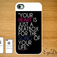 Iphone 5, 4s, and 4 Life Quote Case