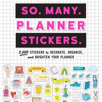 So Many Planner Stickers Book