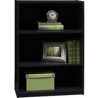 3-shelf Bookcase for Dorm Room, Home Office, Living Room Kids Room,Black