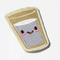 Cute Patches - Kawaii Milk Patch - Milkshake Patches - Little Small Patch - Tumbler Patch - Sweet Patches Cartoon Patch - Food Patches Cute