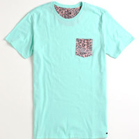 On The Byas Fly Pocket Crew Tee Mens