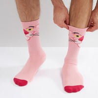HUF x Pink Panther Socks at asos.com