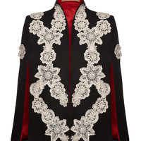 Sabrina Applique Cape | Moda Operandi