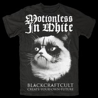 Motionless In White collaboration tee   Black Craft