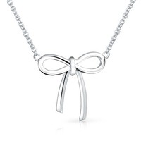 Bling Jewelry Take a Bow Necklace