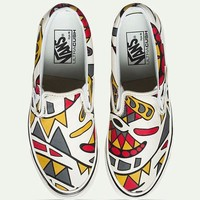 Vans Casual Shoes Yellow Sunflower Low Tops