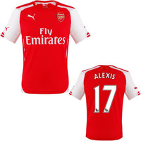 Alexis Jersey Arsenal for Boys and Youth