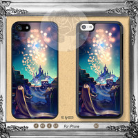 Disney iPhone 5 case, iPhone 5C Case, iPhone 5S case, iPhone 4 Case iPhone case Phone case Disney Tangled ifg-00035