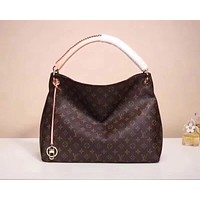 LV Louis Vuitton MONOGRAM CANVAS Artsy HANDBAG TOTE BAG