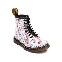 Girls Toddler Dr. Martens 8-Eye Floral Boot