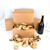 """BBQ BOX - """"Old Vine"""" Grapevine pieces - gift packaged- 100% recycled"""