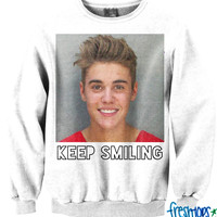 Keep Smiling Crewneck Limited edition