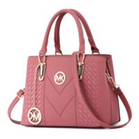 MK Michael Kors Fashion New Leather Women Shopping Handbag Crossbody Shoulder Bag Pink