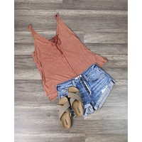 Free People - Scarlett Tank in Cedar