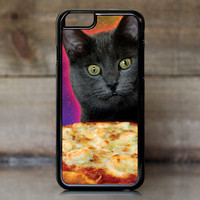 Galaxy Cat Pizza Pie Obsession Case for Apple iPhone 6