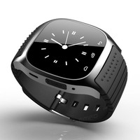 Smart Bluetooth Wrist Watch Smartwatch M26 Music Player Pedometer Handsfree Wristwatch for Android IOS Mobile Phone