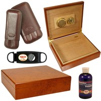 Combo Tampa Humidor and Accessories