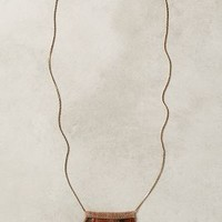 Fanned Feather Necklace by Anthropologie