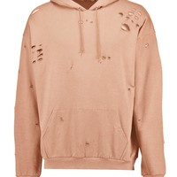 Destroyed Oversized Hoodie