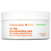 Dr. Dennis Gross Skincare One Step Acne Eliminating Pads (45 Treatments)