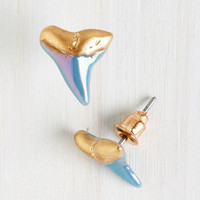 Great Bite Shark Earrings | Mod Retro Vintage Earrings | ModCloth.com