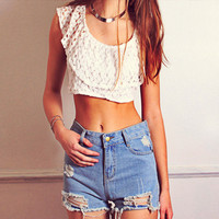 Wandering Dream Crop Top -sold out