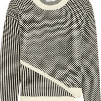 Opening Ceremony - Asymmetric knitted sweater