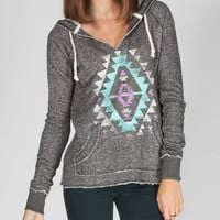 Billabong Listen To This Womens Hoodie Charcoal  In Sizes