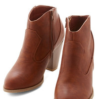 ModCloth Dressed Foot Forward Bootie