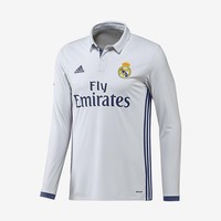 Real Madrid 2016-17 Long-Sleeve Home Jersey