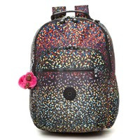 SEOUL PRINT BACKPACK WITH LAPTOP PROTECTION