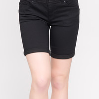 WAX JEANS PUSH UP BERMUDA SHORTS