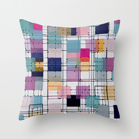 GO Throw Pillow by spinL