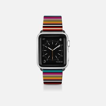 town stripe apple watch band Apple Watch Band (38mm)  by Sharon Turner   Casetify