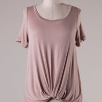 Something Special Tee - Dusty Pink
