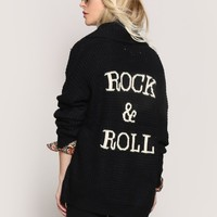 ROCK & ROLL CARDIGAN
