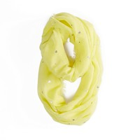AEO Foil Dot Loop Scarf | American Eagle Outfitters