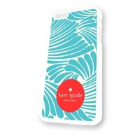 Kate Spade Floral White Plastic For iPhone 6 Case