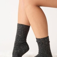 Mistletoes Socks - Charcoal