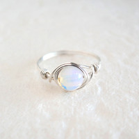 Sterling Silver Opalite Ring