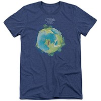 Yes Fragile Cover Adult Soft Tri Blend T-Shirt