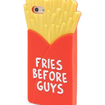 Aeropostale  Fries Before Guys Phone Case - Red, Small