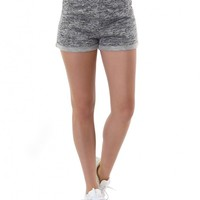 Casual Low Rise Relaxed Stretch Bermuda Fitness Athletic Sweat Shorts